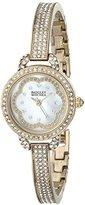 Badgley Mischka Women's BA/1342WMGB Swarovski Crystal-Accented Bracelet Watch
