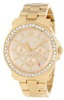 Juicy Couture Women's 1901049 Pedigree Gold Plated Bracelet Watch